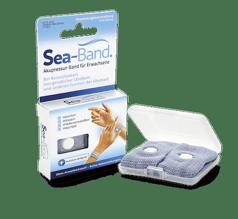 SEA-BAND Akupressurband gegen Übelkeit bei Erwachsenen