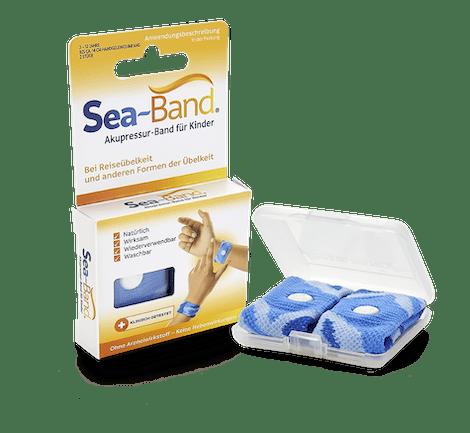 SEA-BAND Akupressurband gegen Übelkeit bei Kindern